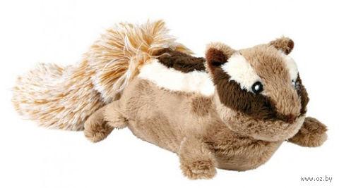 """Игрушка для собаки с пищалкой """"Бурундук"""" (28 см)"""