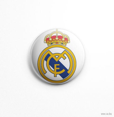 "Значок маленький ""Реал Мадрид"" (арт. 452) — фото, картинка"
