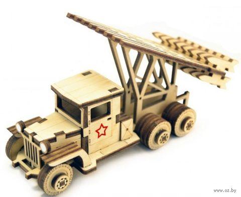 """Сборная деревянная модель """"Советский грузовик Катюша"""" — фото, картинка"""