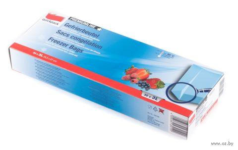 Набор пакетов для замораживания (30 шт.; 255х270 мм) — фото, картинка