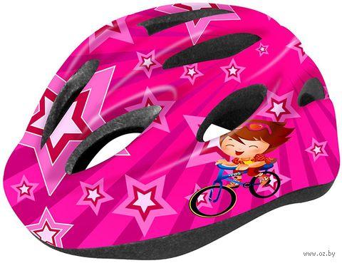 """Шлем велосипедный детский """"WT-021"""" (чёрно-красный) — фото, картинка"""