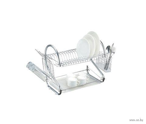 Сушилка для посуды металлическая (560х380х245 мм) — фото, картинка