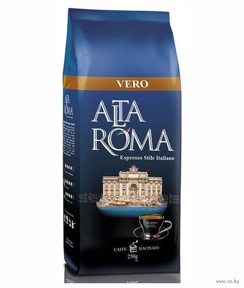 "Кофе молотый ""Alta Roma. Vero"" (250 г) — фото, картинка"