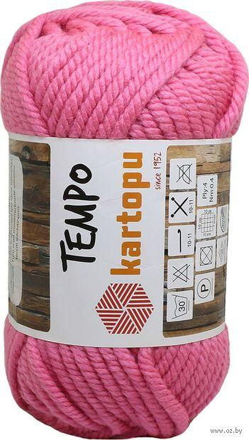 "Пряжа ""KARTOPU. Tempo №K748"" (200 г; 80 м; розовый) — фото, картинка"
