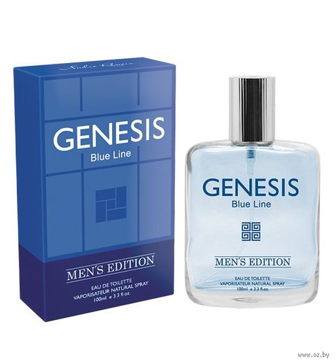 "Туалетная вода для мужчин ""Genesis Blue Line"" (100 мл) — фото, картинка"