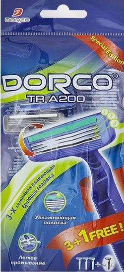 """Станок для бритья одноразовый """"TRA 200"""" (4 шт.) — фото, картинка"""