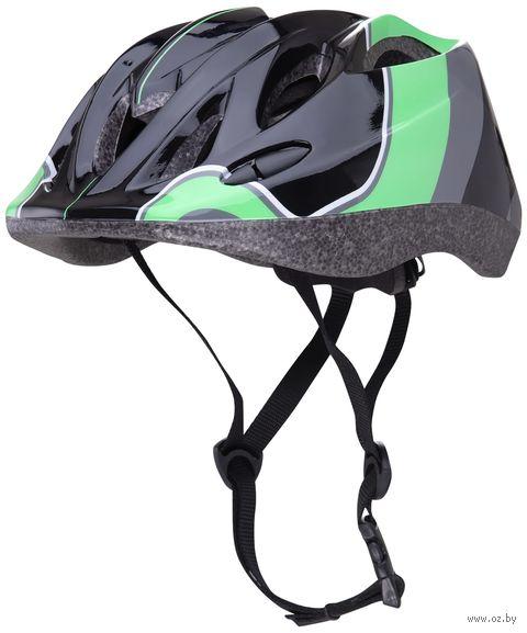 """Шлем защитный """"Envy"""" (M-L; зелёный) — фото, картинка"""