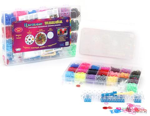 """Набор для плетения из резинок """"Резинки-Твинки 4400"""""""