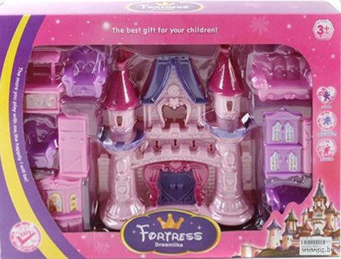 """Дом для куклы с набором мебели """"Замок"""" (арт. 665-1)"""