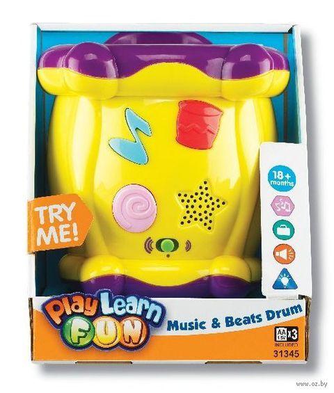 """Музыкальная игрушка """"Барабан"""" (со световыми эффектами)"""