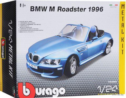 "Модель машины ""Bburago. BMW M Roadster 1996"" (масштаб: 1/24)"