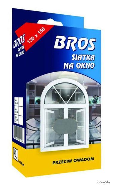 """Сетка для дверей и окон от насекомых """"Bros"""" (130х150 см) — фото, картинка"""