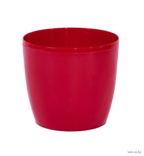 """Цветочный горшок """"Magnolia"""" (12 см; красный) — фото, картинка"""