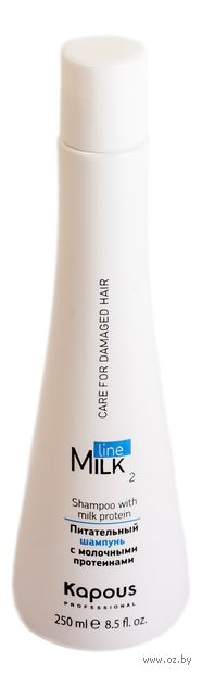 """Шампунь для волос """"Питательный. С молочными протеинами"""" (250 мл) — фото, картинка"""