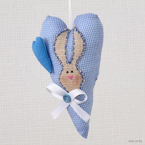 """Украшение ручной работы """"Сердце"""" (с зайцем) — фото, картинка"""