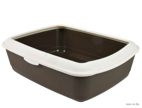 "Туалет для кошек ""Classic"" со съемным ободом для сменных пакетов (47х37х15 см; арт. 40310)"