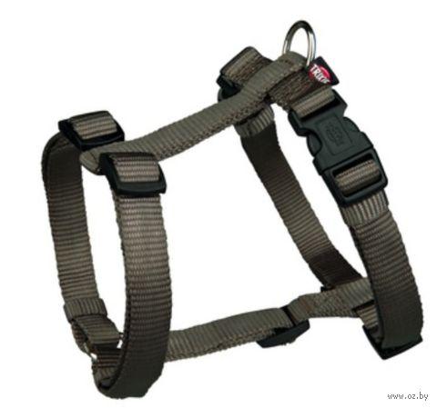 """Шлея для собак """"Premium H-harness"""" (размер S-M, 40-65 см, темно-серый, арт. 20336)"""