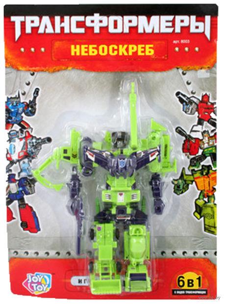 """Робот-трансформер """"Небоскреб. 6 в 1"""""""