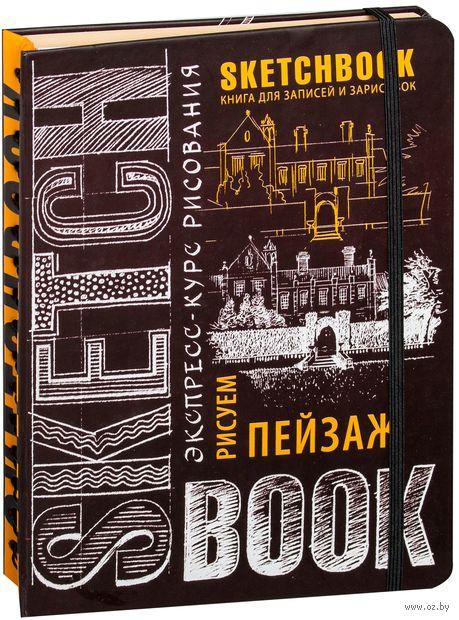 SketchBook. Визуальный экспресс-курс по рисованию. Пейзаж (шоколад)