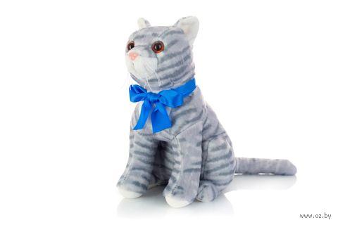 """Мягкая игрушка """"Серая кошка Василина"""" (33 см) — фото, картинка"""