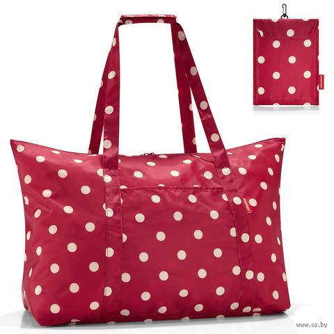 """Сумка складная """"Mini maxi travelbag"""" (ruby dots)"""