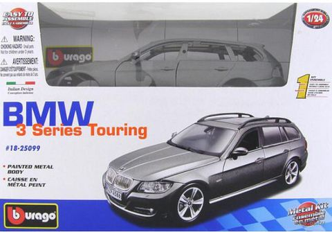 "Модель машины ""Bburago. BMW 3 Series Touring"" (масштаб: 1/24)"
