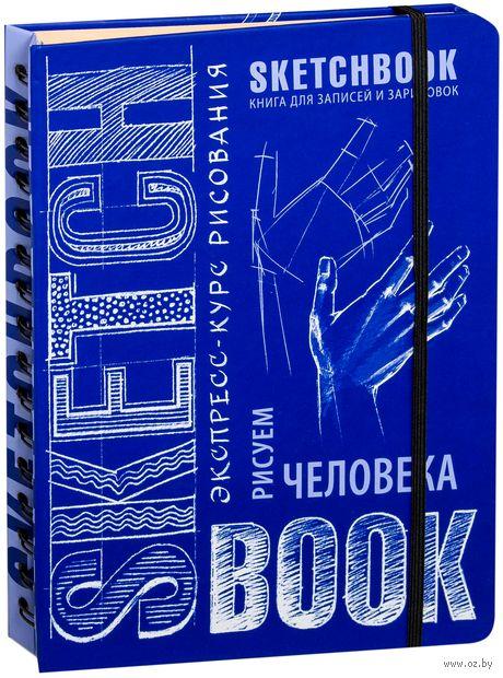 SketchBook. Визуальный экспресс-курс по рисованию. Рисуем человека (кобальт) — фото, картинка