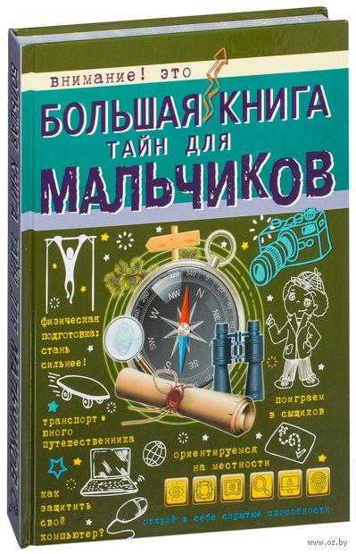 Большая книга тайн для мальчиков — фото, картинка