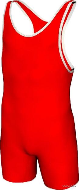 Трико борцовское MA-401 (р. 46; красное) — фото, картинка