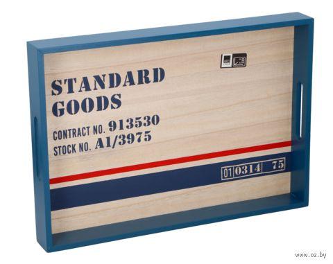 Поднос деревянный (400х280х45 см) — фото, картинка