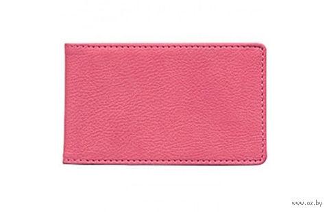 """Футляр для кредитных карт Time/System """"Aston"""" (dark pink)"""