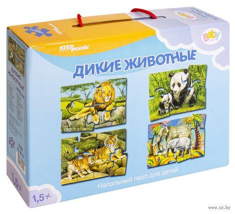 """Пазл напольный """"Дикие животные"""" (30 элементов)"""