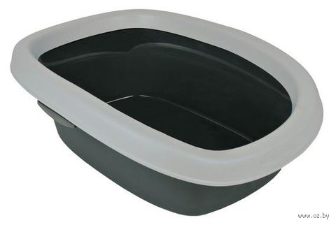 """Туалет для кошек """"Carlo 1"""" с высоким бортом (43х31х14 см) — фото, картинка"""