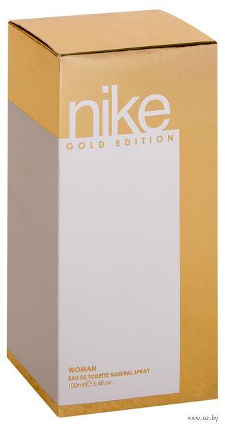 "Туалетная вода для женщин ""Nike. Gold Edition"" (100 мл)"