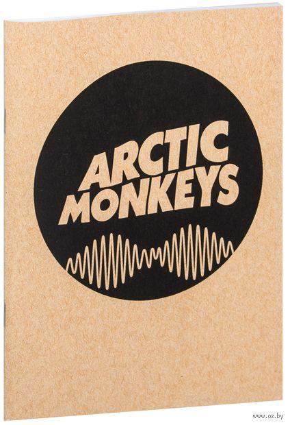 """Блокнот крафт """"Arctic Monkeys"""" (А5; арт. 065) — фото, картинка"""