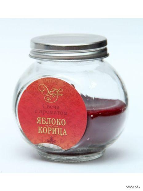 "Ароматизированная свеча ""Яблоко и Корица"" (арт. 41236) — фото, картинка"