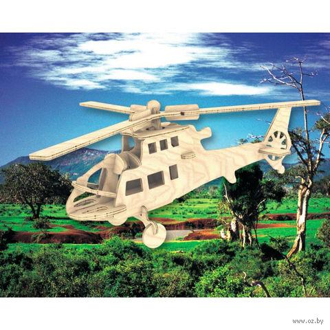 """Сборная деревянная модель """"Боевой вертолет"""" (большой) — фото, картинка"""