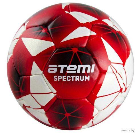 """Мяч футбольный Atemi """"Spectrum"""" №5 (бело-красный) — фото, картинка"""