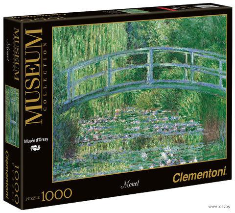 "Пазл ""Клод Моне. Японский мостик. Пруд с водяными лилиями"" (1000 элементов) — фото, картинка"