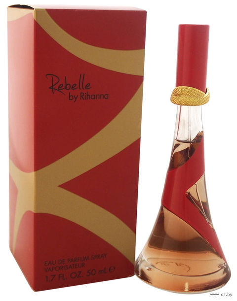 "Парфюмерная вода для женщин Rihanna ""Rebelle"" (50 мл) — фото, картинка"