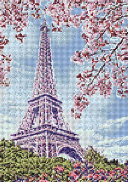 """Алмазная вышивка-мозаика """"Весна в Париже"""" (270х380 мм) — фото, картинка"""