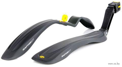 """Комплект щитков для велосипеда """"Raptor 2 SDE"""" (чёрный) — фото, картинка"""