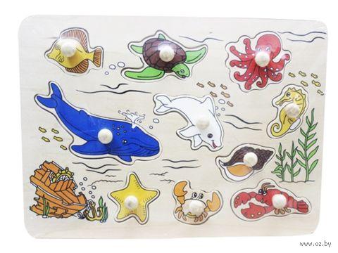 """Рамка-вкладыш """"Морские обитатели"""" — фото, картинка"""