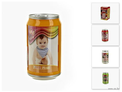 Рамка для фото пластмассовая с копилкой (6,7*6,7*12 см, арт. 7900069)
