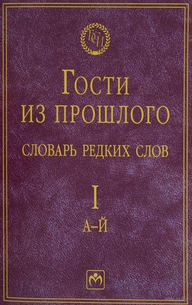 Гости из прошлого. Словарь редких слов. Том 1 (в 3 томах). Е. Гаева