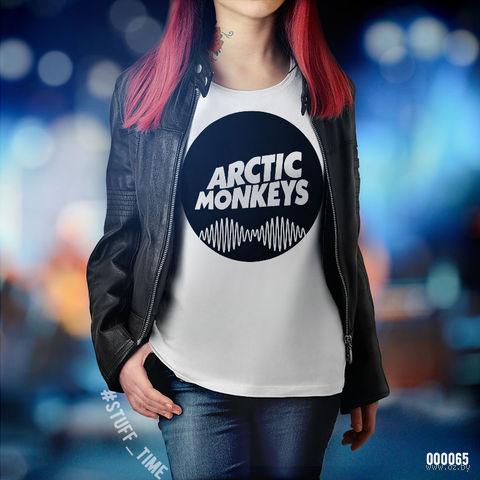 "Футболка женская ""Arctic Monkeys"" (XL; арт. 065)"