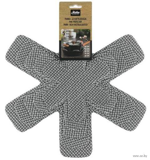 """Набор крышек защитных для сковородок """"Maku"""" (5 шт.) — фото, картинка"""