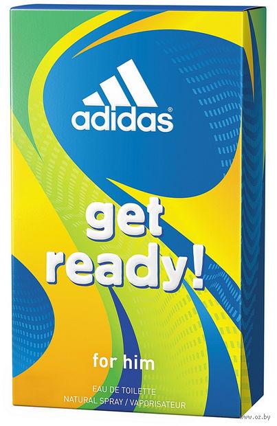 """Туалетная вода для мужчин """"Get Ready"""" (50 мл)"""