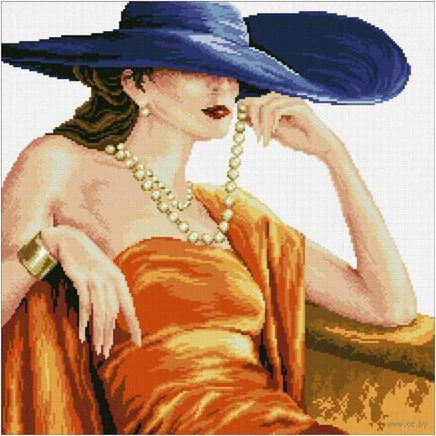 """Алмазная вышивка-мозаика """"Прекрасная леди"""" (500x500 мм) — фото, картинка"""