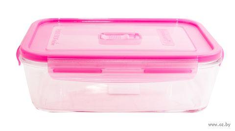 Контейнер для еды (1,97 л; розовый) — фото, картинка